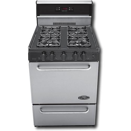 Premier Pro Series P24s340bp 24 Inch Gas Range With