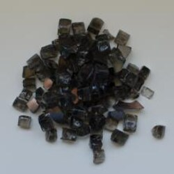 Amantii Dark Gray Reflective 1/2-Inch Fire Glass - 5 Pounds - AMSF-GLASS-05 image