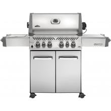 Napoleon Prestige 500 Freestanding Natural Gas Grill With Infrared Rear Burner & Infrared Side Burner - Stainless Steel image