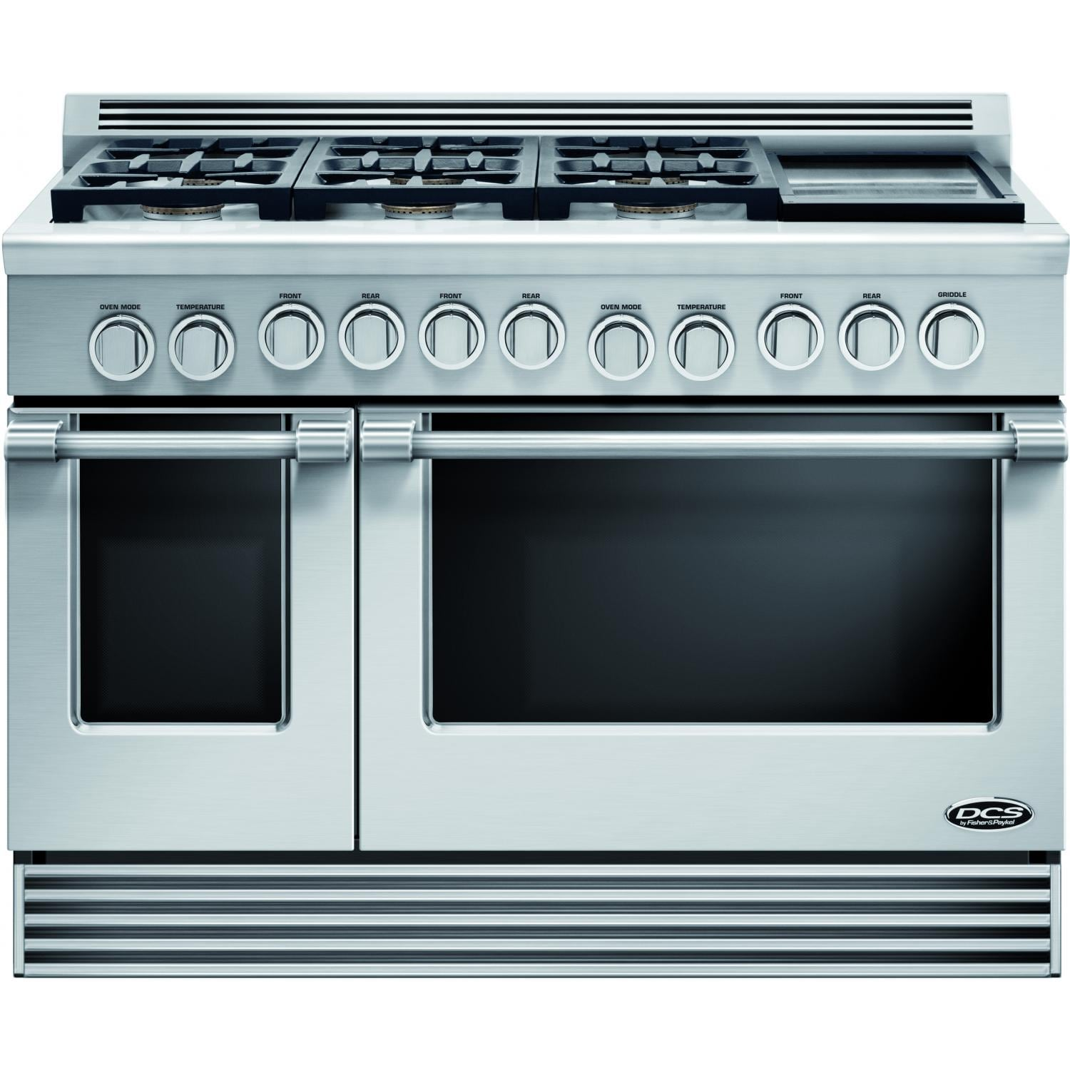 DCS 48-Inch Professional 6-Burner Natural Gas Range With Griddle ...