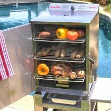 Smokin Tex 1400 Pro Series Electric BBQ Smoker Smokin Tex Pro Series Electric Barbecue Smoker - Delicious Food at Your Fingertips