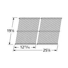 Stainless Steel Wire Rectangle Cooking Grid 536S2