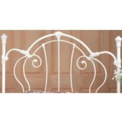Hillsdale Cherie Ivory Metal Headboard Without Frame - Full/Queen - 381-490 image