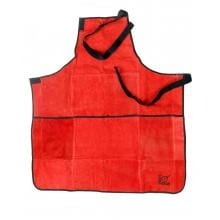 Lodge Leather Apron Red - A5-ALR