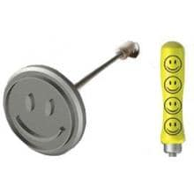 Sports Brand Deluxe Happy Face BBQ Branding Iron