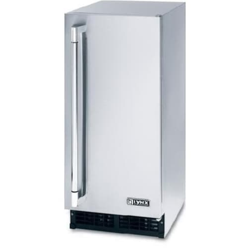 lynx stainless steel outdoor ice maker
