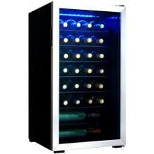 Danby Designer 36 Bottle Wine Cooler - Stainless Steel - DWC93BLSDB image