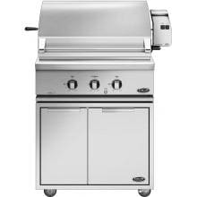 DCS 30-Inch Gas BBQ Grill With Rotisserie On CAD Cart - BGC30-BQR-L