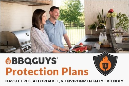 BBQGuys Protection Plans. Hassle-free. Affordable. Environmentally Friendly.