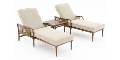 Chaise Lounge Set