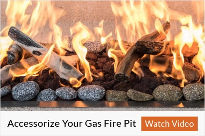 How To Accessorize Your Gas Fire Pit