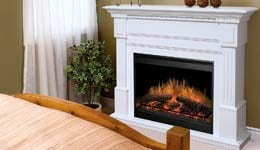 Dimplex Electric Fireplace Mantel Packages Graphic