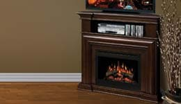 Dimplex Electric Fireplace Media Consoles Graphic