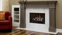 Dimplex Opti-Myst Fireplaces Graphic