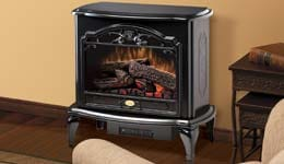 Dimplex Freestanding Electric Stoves Graphic