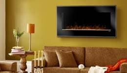 Dimplex Wall-Mount Electric Fireplaces Graphic