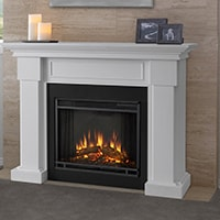 Real Flame Hillcrest Fireplace Mantel Video