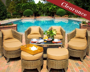 St. Martin Patio Furniture Collection
