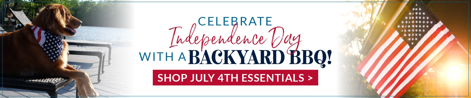 Celebrate Independence Day with a Backyard BBQ!
