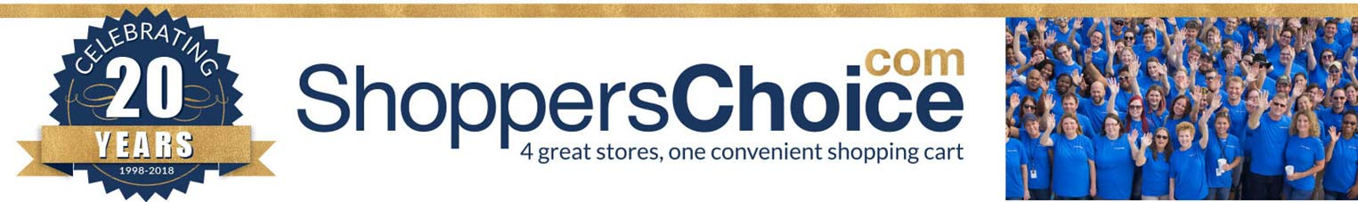 ShoppersChoice.com is celebrating 20 years!