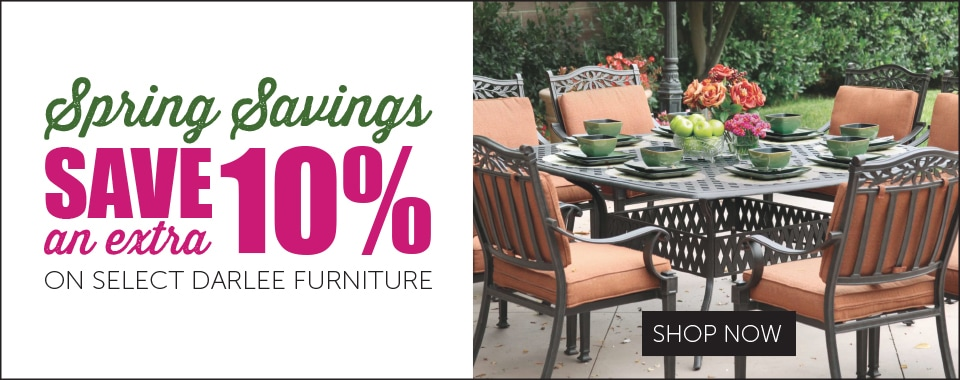 Extra 10% Savings on Darlee Patio Furniture
