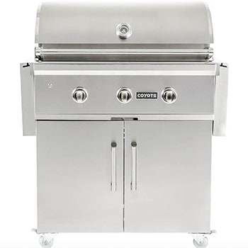 Coyote C-Series 34-Inch 3-Burner Propane Gas Grill
