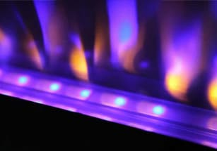 Napoleon Azure Electric Fireplace