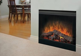 Electric Built-In Fireplaces