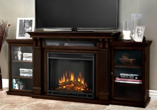 Electric Fireplace Media Centers
