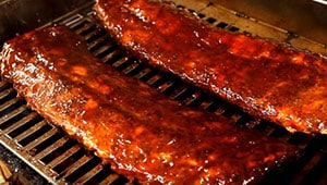 Smoked Ribs on a TEC Patio FR Infrared Gas Grill