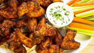 Smoked Fried Chicken Wings Recipe with Jay D's Barbecue Sauce