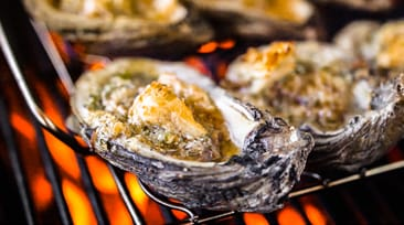 Tequila Lime Chargrilled Oysters
