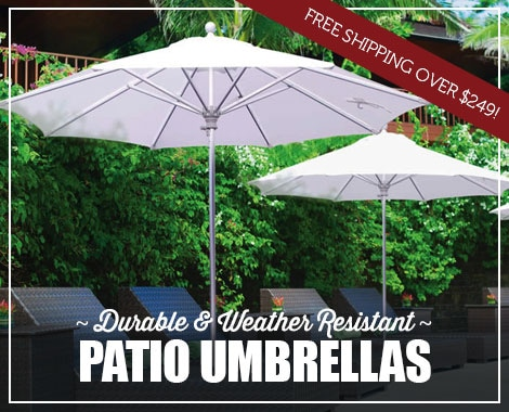 Durable and Resistant Patio Umbrellas